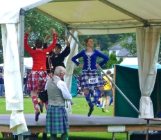 Highland games...love the dancers!
