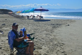 Beach day at Playa Distilladeras