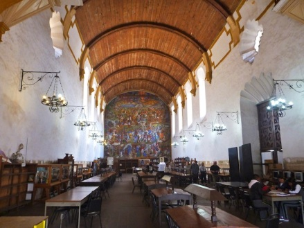 Once a church, now a library