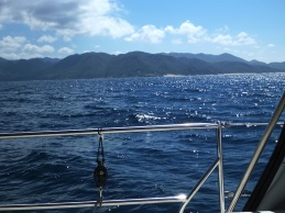Rounding Cabo Corrientes on a flat sea