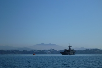 Mexican Navy in a life raft..hmmm