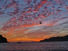 Sunset in Cuastecomate