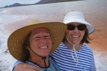 Selfie at the salt ponds
