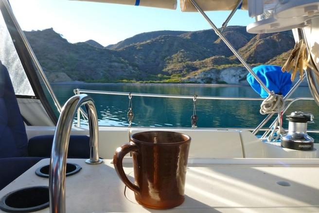 Morning coffee in Ballandra
