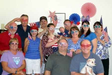 The patriotic crew