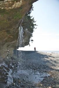 Sandcut Creek falls