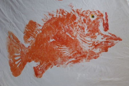 Fish prints!!