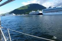 Bye bye cruise ship land