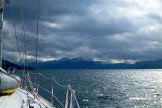 A cold day on Johnstone Strait
