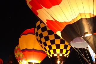 Balloon glow...