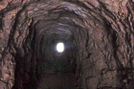 An old mining tunnel