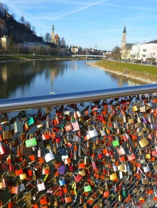 Love locks everywhere!