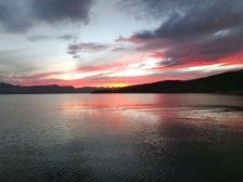Sunset in Isla San Francisco