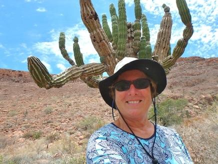 My crazy cactus hat!