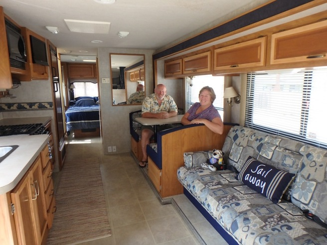 Our new home on wheels!
