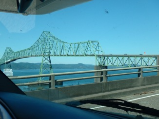 Highway 101 bridge over the Columbia