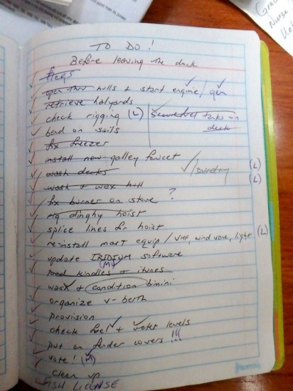 The DONE list!!