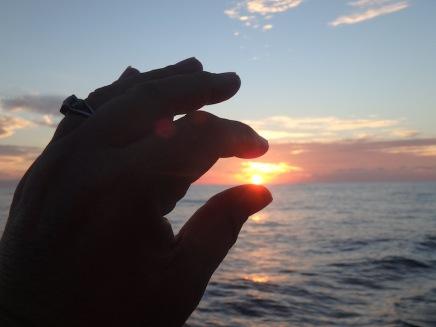 Sunrise entering Matanchen