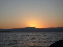 Sunrise over Banderas Bay from Punta de Mita