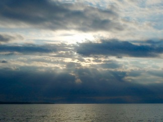 One of many beautiful sunrises over Banderas Bay