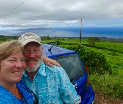 Driving the south road to Hana
