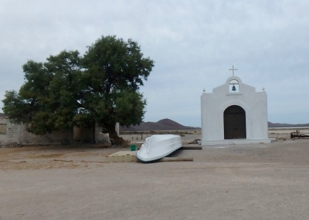The fisherman's church at Bahia Salinas