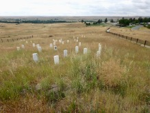 Site of Custer's last stand