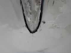 Prop shaft opening