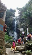 The very popular waterfall!