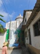 Tiny streets of Yelapa
