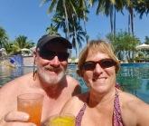 Enjoying some R&R at the marina/hotel
