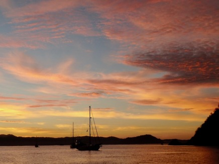 Sunset in Tenacatita
