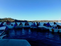 The mayor's raft-up