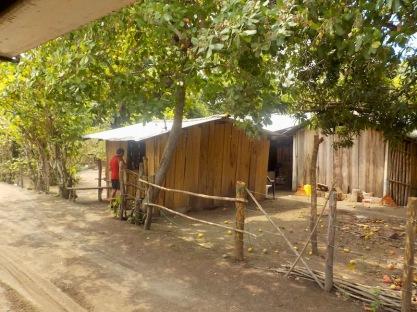 Tiny tienda in the village