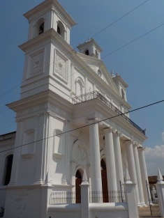Santa Lucia Church built by the Spanish in 1853