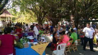 The Saturday market in Huatulco