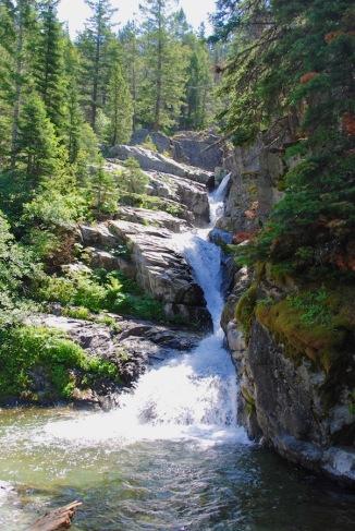 Falls near Alder Overlook