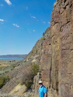 """Climbing"" Steamboat Rock"
