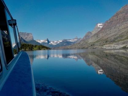 Early morning calm on Saint Mary Lake