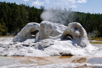 Grotto Geyser..before...