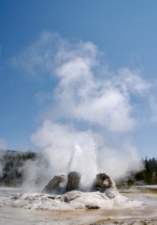 Grotto Geyser..after!