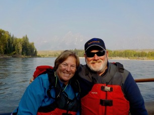 Morning float trip in Teton on a multi-channel braided streambed (that one's for you Megan!)