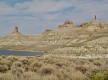 North end of Flaming Gorge