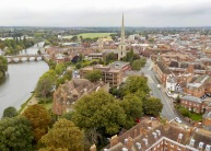 Lovely view of Worcester and the River Severn