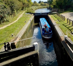 The view from the lock laborer
