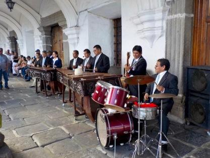 Marimba band!
