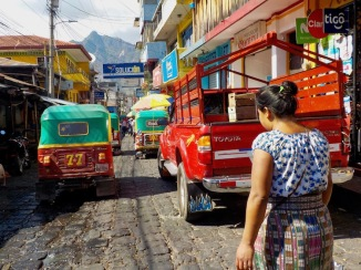 Tuk tuks and passenger trucks
