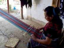 Traditional back strap loom