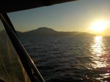 Sunrise over Nicaragua