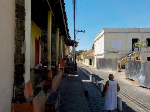 Cobbled streets of Amapala